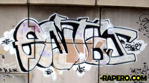 Grafiti en muro